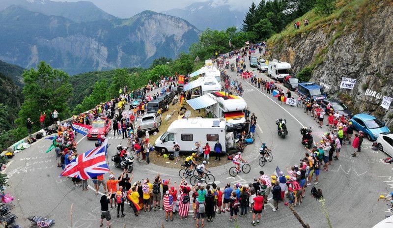 El Tour de 2019 bate el récord de montaña