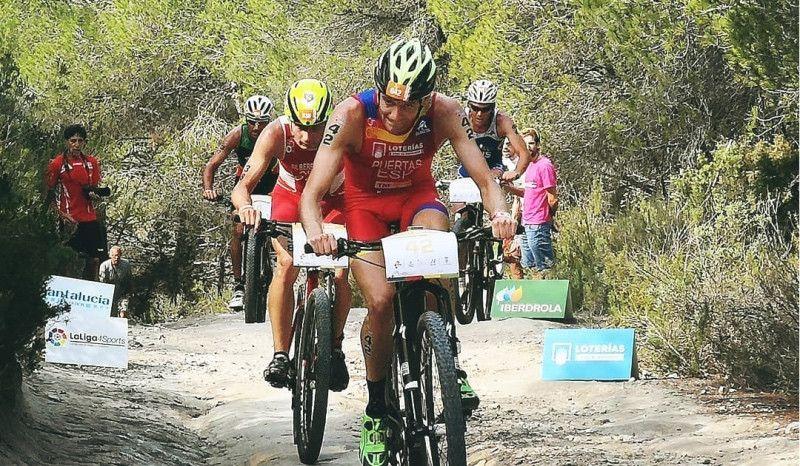 Camilo Puertas, subcampeón de Europa de Duatlón Cross en Ibiza