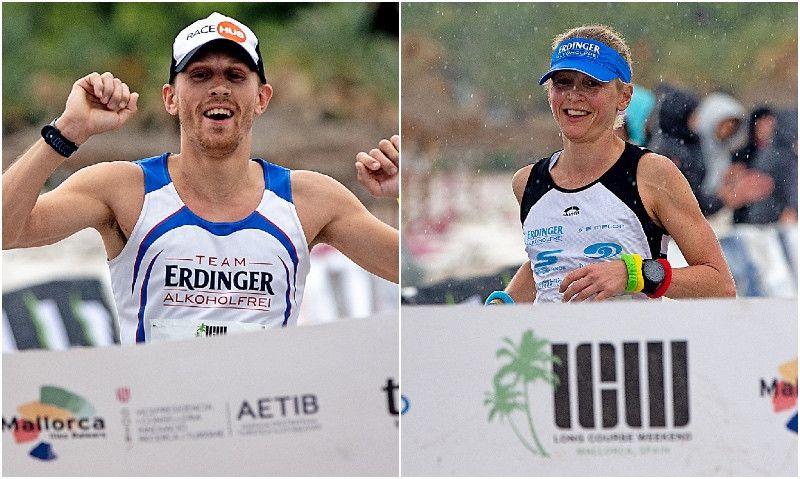 Lucy Gossage y Tom Vickery vuelven a conquistar el Long Course Weekend