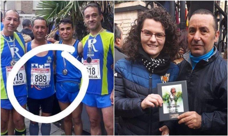 Escándalo en una carrera en La Rioja: un hombre suplanta a una mujer