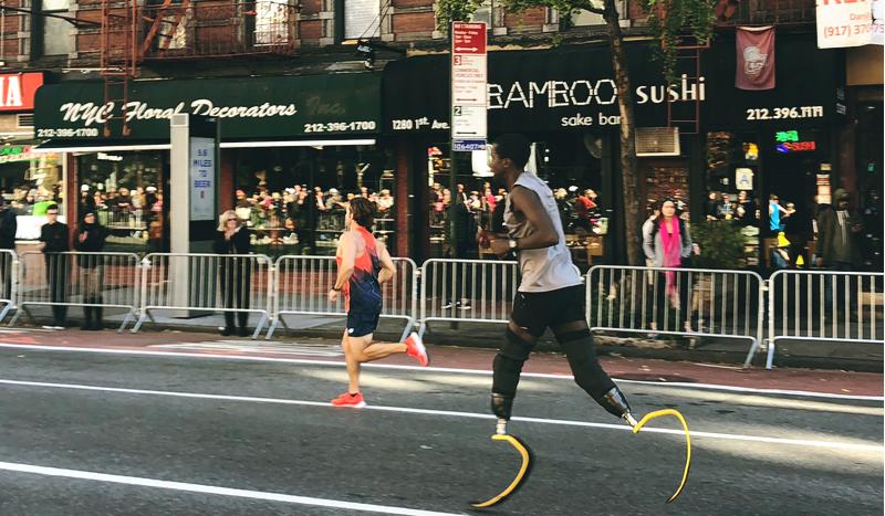 Marko Cheseto, el doble amputado que ya es 'recordman' del Maratón de Nueva York