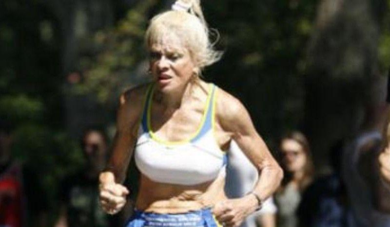Ginette Bedard completa el Maratón de Nueva York con 85 años