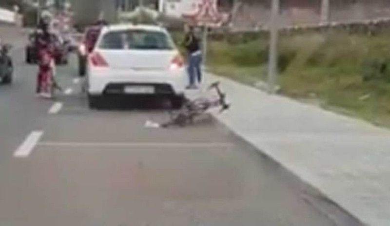 Marc Soler publica otro vídeo de un conductor que agrede a un ciclista