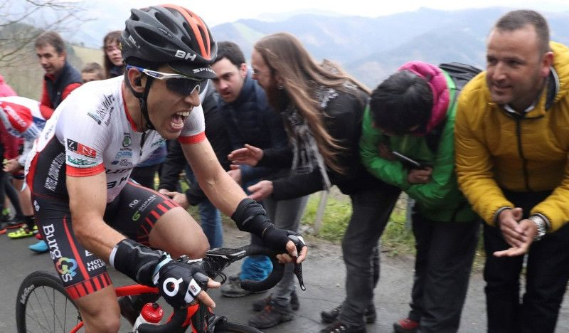 El Burgos, en peligro de sanción de la UCI tras el positivo de Ibai Salas