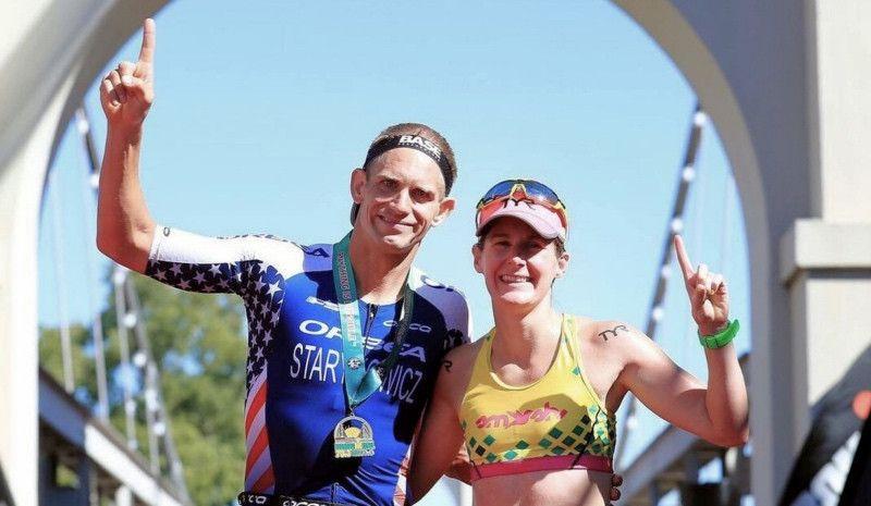 Starykowicz gana un Ironman 70.3 dos semanas después de Kona