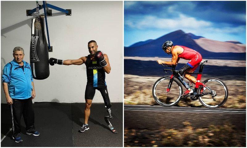 Entrenando con Lionel Morales: de subcampeón de España de Boxeo a triatleta