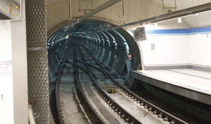 Metro de Madrid celebra su centenario con una carrera sobre la línea 1