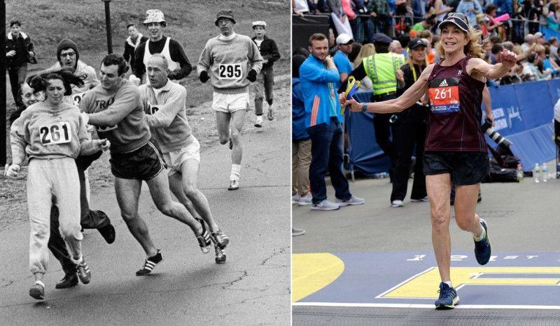 """Kathrine Switzer: """"Antes se decía que si hacías mucho deporte te convertirías en hombre"""""""