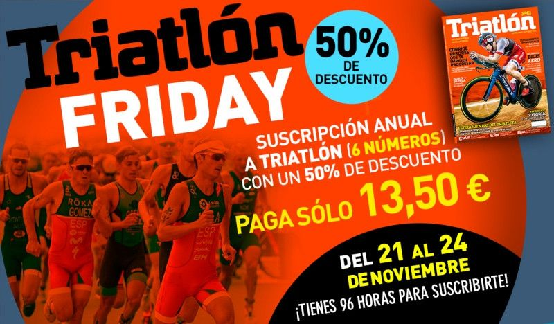 ¡Las mejores ofertas de suscripción a la Revista Triatlón!