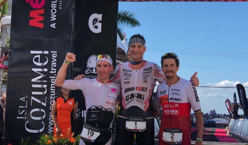 Iván Raña, otra vez 3º en el Ironman de Cozumel