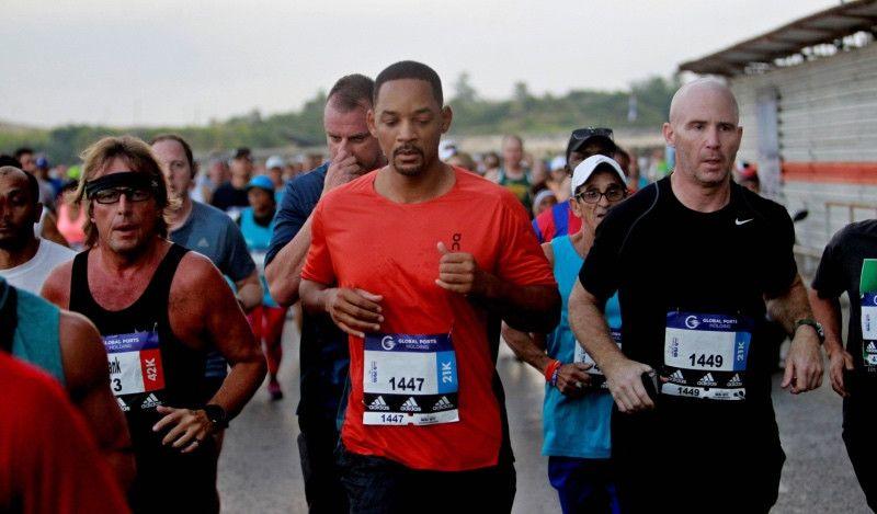 Los cubanos Jaén y Castillo ganan la Marabana 2018 y Will Smith corre el medio maratón