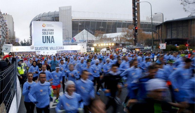 """42.000 corredores en la San Silvestre Vallecana: """"Somos la mejor 10K del mundo"""""""