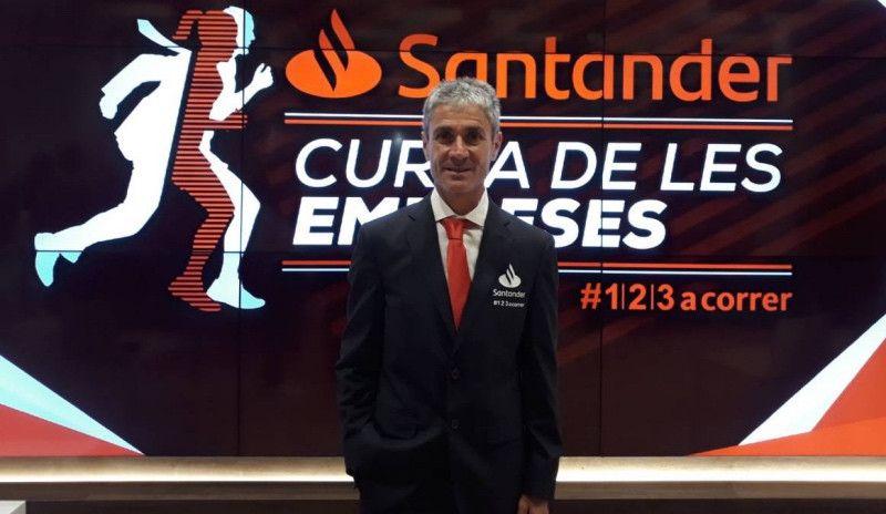 Fiz competirá con traje y corbata en la Santander Cursa de les Empreses