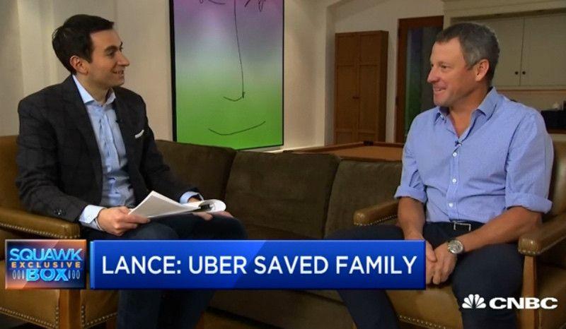 Lance Armstrong se hace millonario tras invertir en Uber por casualidad