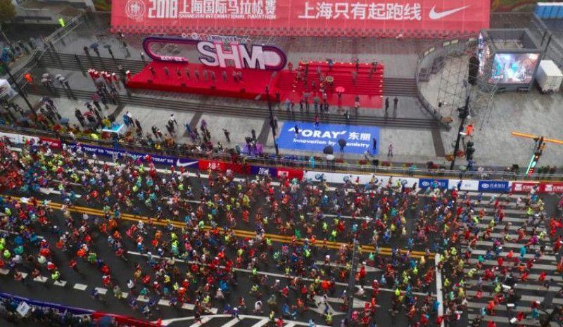 (VÍDEO) Escándalo en una media maratón en China: más de 200 corredores descalificados por atajar
