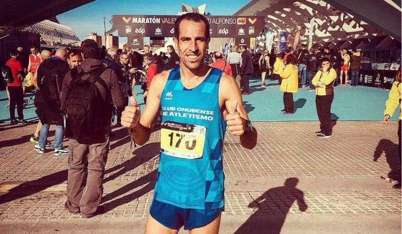 Misión cumplida: Emilio Martín hace 2h17 en el maratón de Valencia