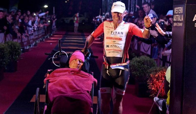 Héroes del Ironman de Busselton