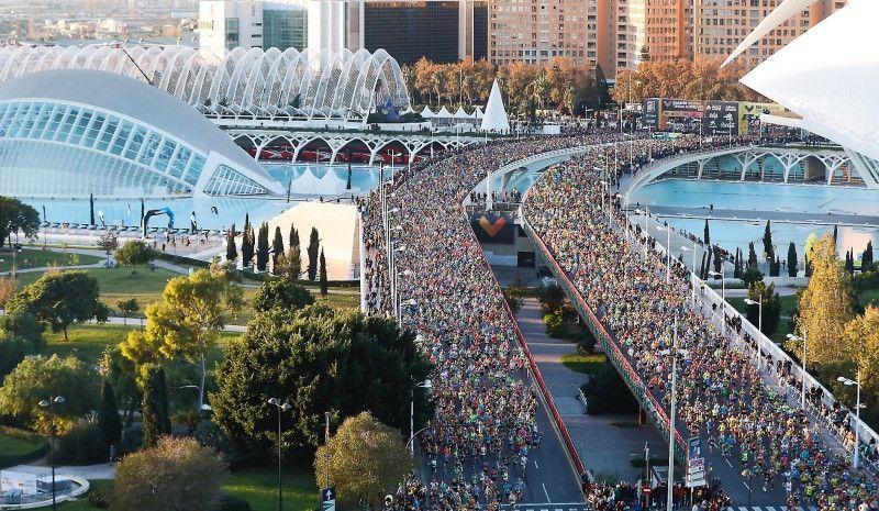 Maratón Valencia fija su límite en 25.000 dorsales para 2019