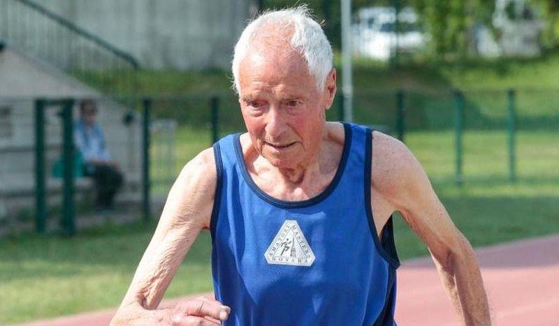 Récord del mundo de 3.000 y 1.000 metros para celebrar ¡su 95º cumpleaños!