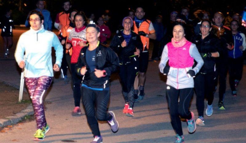 Centenares de personas salen a correr en Zaragoza en recuerdo de Laura Luelmo