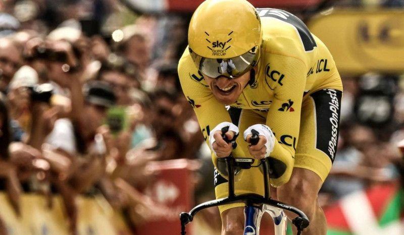 Geraint Thomas competirá en el Mundial Ironman 70.3 de Niza 2019