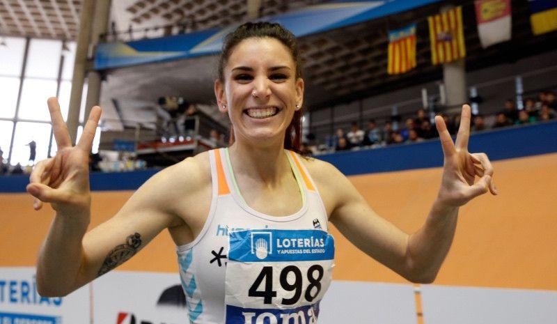 Laura Bueno bate el récord de España de 500 m bajo techo