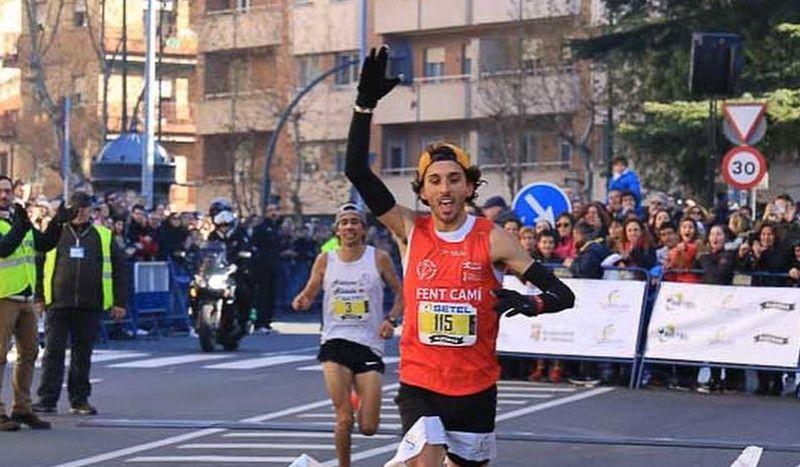 Jorge Blanco, doblete en las San Silvestre de Salamanca y León... en 5 horas