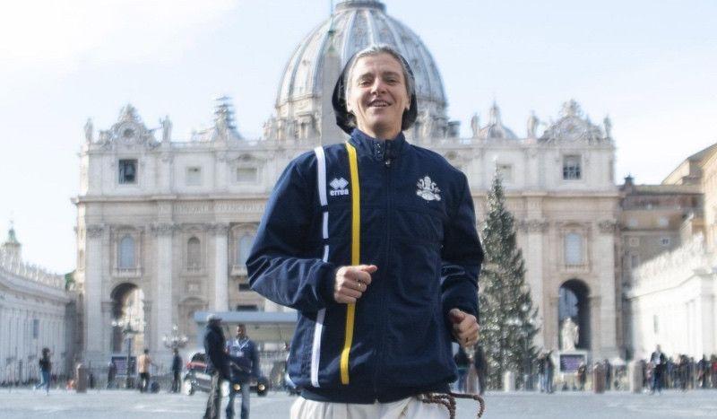 El Vaticano crea un equipo de atletismo con curas, monjas y guardias suizos