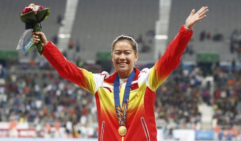 La mejor velocista china, sancionada 4 años por dopaje