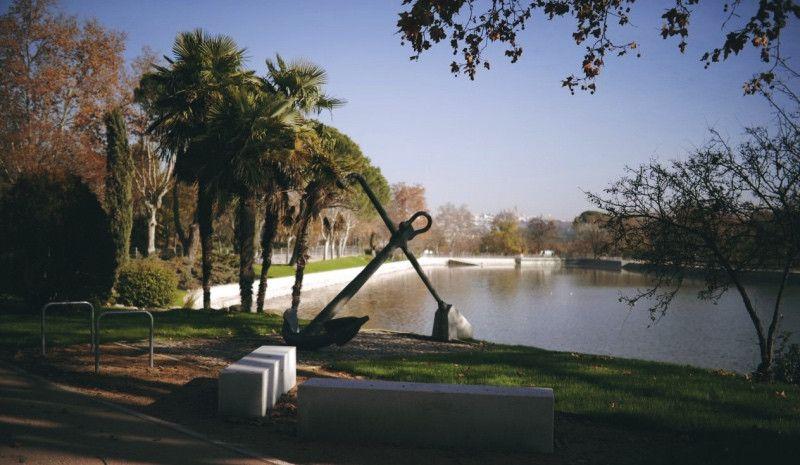 El lago de la Casa de Campo, listo para el triatlón