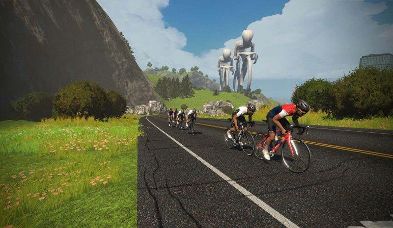 (VÍDEO) Así fue la primera carrera virtual de Zwift con ciclistas profesionales