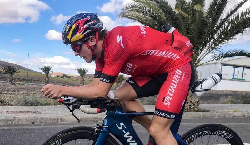 (VÍDEO) Así ha preparado Blummenfelt el segmento de bici del Ironman 70.3 de Dubai
