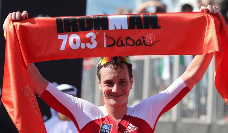 Alistair Brownlee no estará en el Ironman 70.3 de Dubai