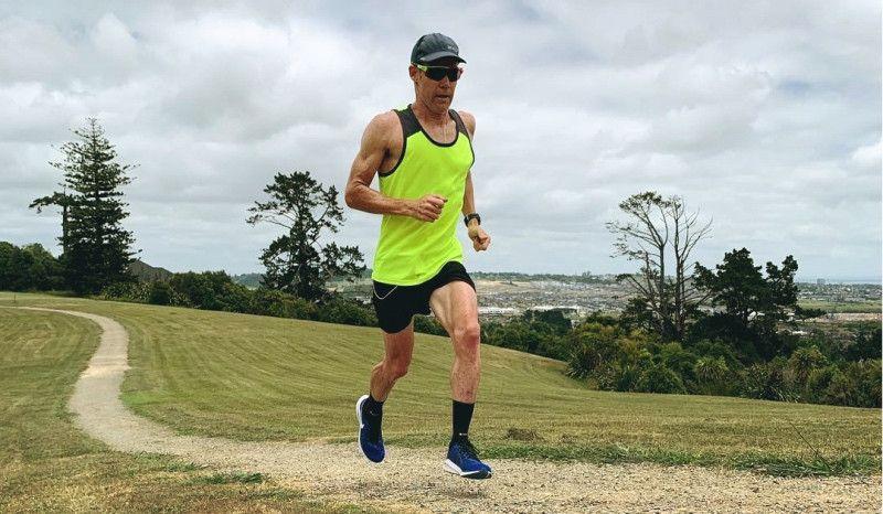 El incombustible Cam Brown (46 años) corre 133 km en una semana