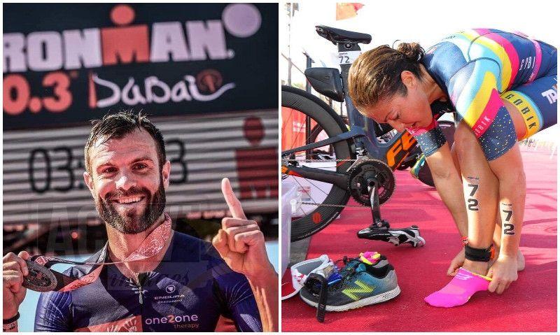 (VÍDEO) Vídeo-resumen del Ironman 70.3 de Dubai