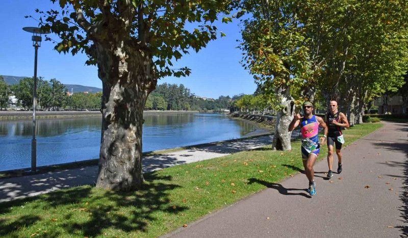 El río Lérez y su entorno, protagonistas en el Mundial de Acuatlón Pontevedra 2019