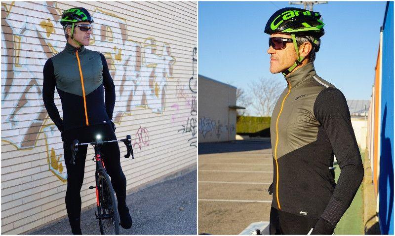 Test de chaquetas de ciclismo: Santini Vega