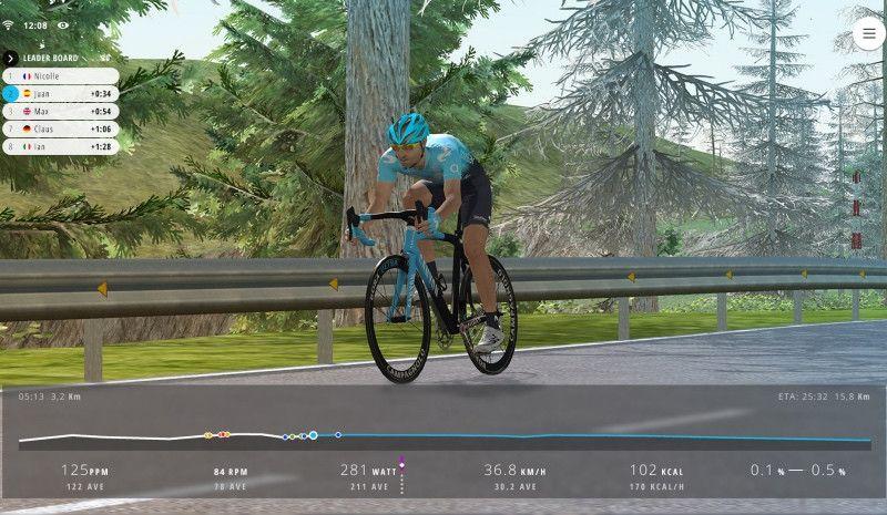 Llega Movistar Virtual Cycling, una revolucionaria competición de ciclismo virtual