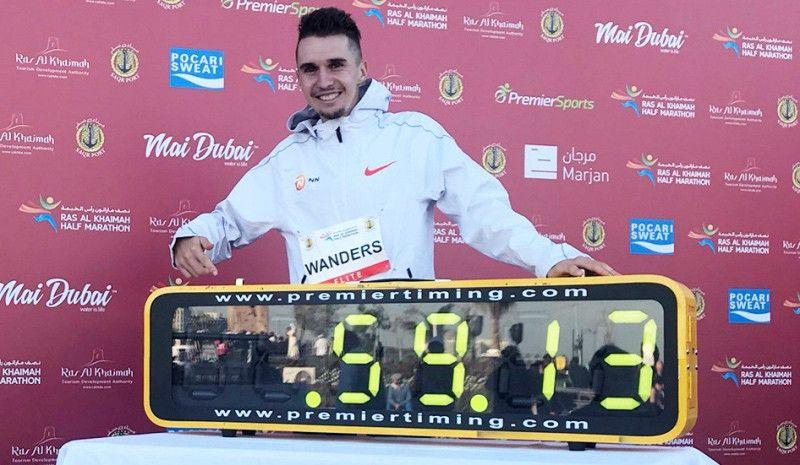 Récord de Wanders en el ya histórico medio maratón de RAK: ¡¡11 atletas bajaron de los 60 minutos!!