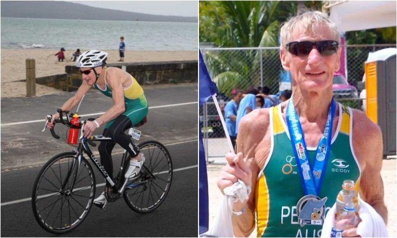 'Kahuna', el triatleta de 82 años que superó el cáncer y la dislexia... y sigue compitiendo