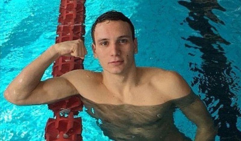 Bortuzzo vuelve a la piscina tras perder la movilidad en las piernas por un disparo