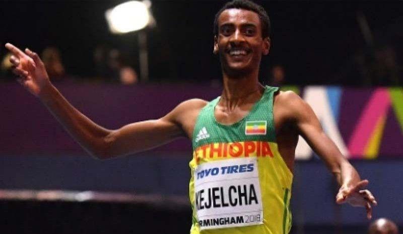 Kejelcha logra a la segunda arrebatar el récord indoor de la milla a El Guerrouj