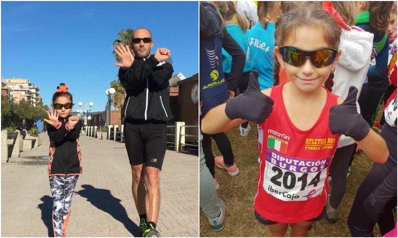 La incansable lucha de un padre para que su hija de 6 años ostente el récord europeo de 10K