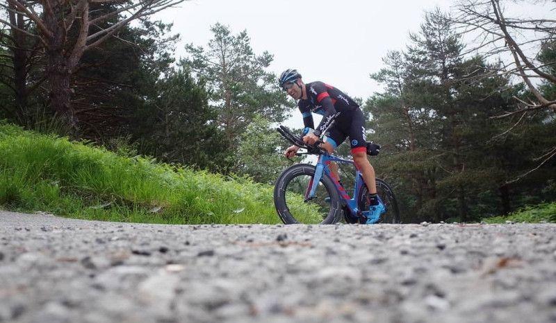 """Eneko Llanos: """"159 km de bici y 18 corriendo... uno de mis mejores entrenos"""""""