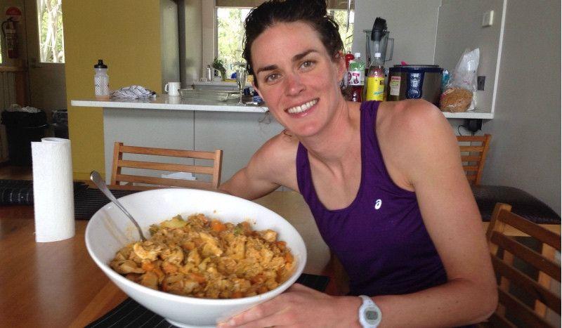 (VÍDEO) El 'súper desayuno' de Gwen Jorgensen