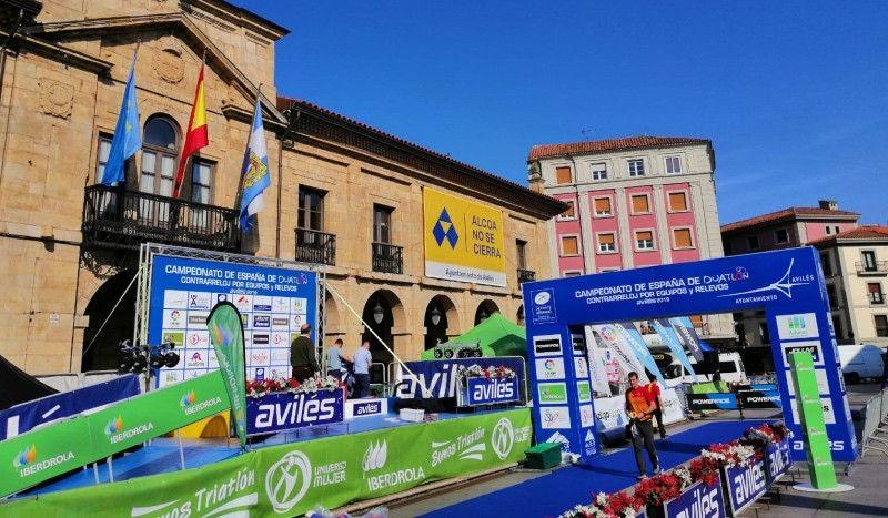 3.000 duatletas en Avilés para la disputa del Campeonato de España CRE y Relevos