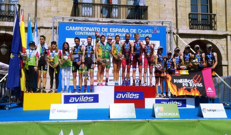 Tri-Penta Terras de Lugo y Cidade de Lugo Fluvial, campeones de España de Duatlón por Relevos