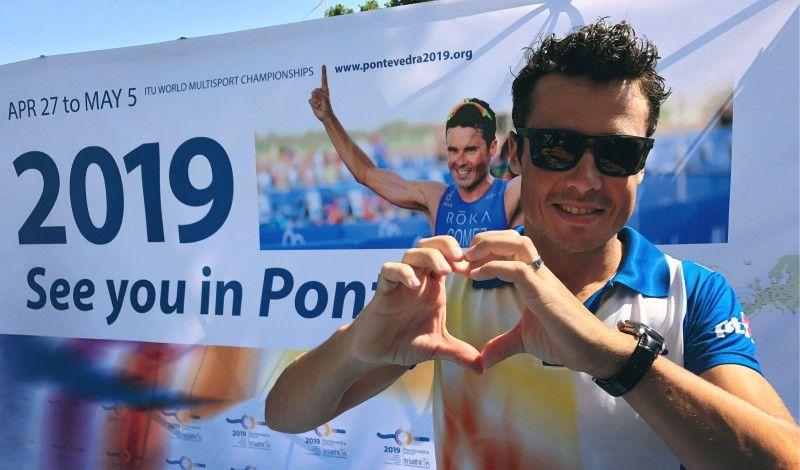 4.000 triatletas en Pontevedra'19, el Mundial con mayor participación de la historia