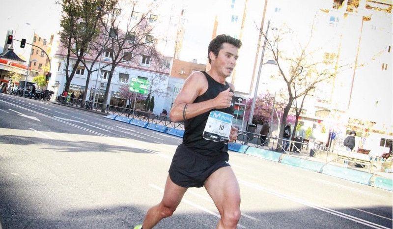 Javier Gómez Noya pulveriza su marca en el Medio Maratón de Madrid