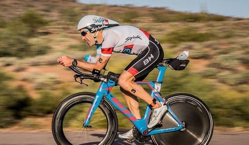 Eneko Llanos, 4º en el Ironman de Sudáfrica